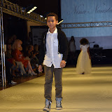 OIC - ENTSIMAGES.COM - Model(s) at the   Nina Naustdal - catwalk show  as Oslo born designer exhibits her aw 2015 couture - ss 2016 and childrens wear collections in collaboration with MTV Staying Alive Foundation in London 27th September 2015 Photo Mobis Photos/OIC 0203 174 1069
