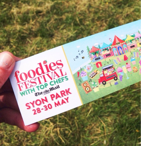Foodies Festival, Syon Park - Masterchef chefs doing cooking demonstrations, street food, drink tents, BBQs...everything you love about food in one beautiful park!