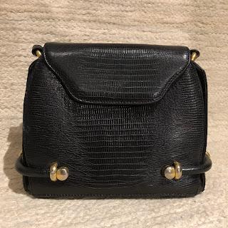 Bally Lizard Crossbody Bag