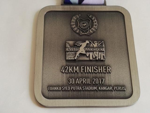 Perlis Marathon Finisher Medal 2