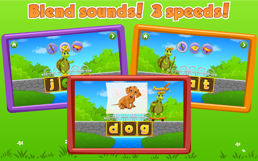 Learn to Read with Tommy Turtle - screenshot