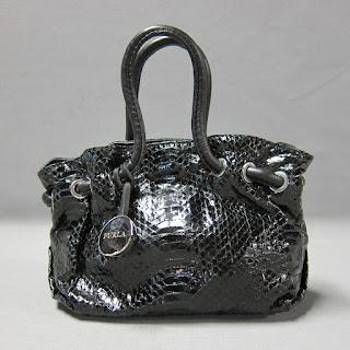Furla Snakeskin Mirco Bag