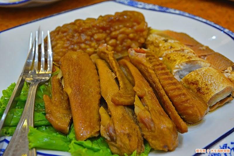 木生海鮮會館滷苦瓜、虱目肚、翅