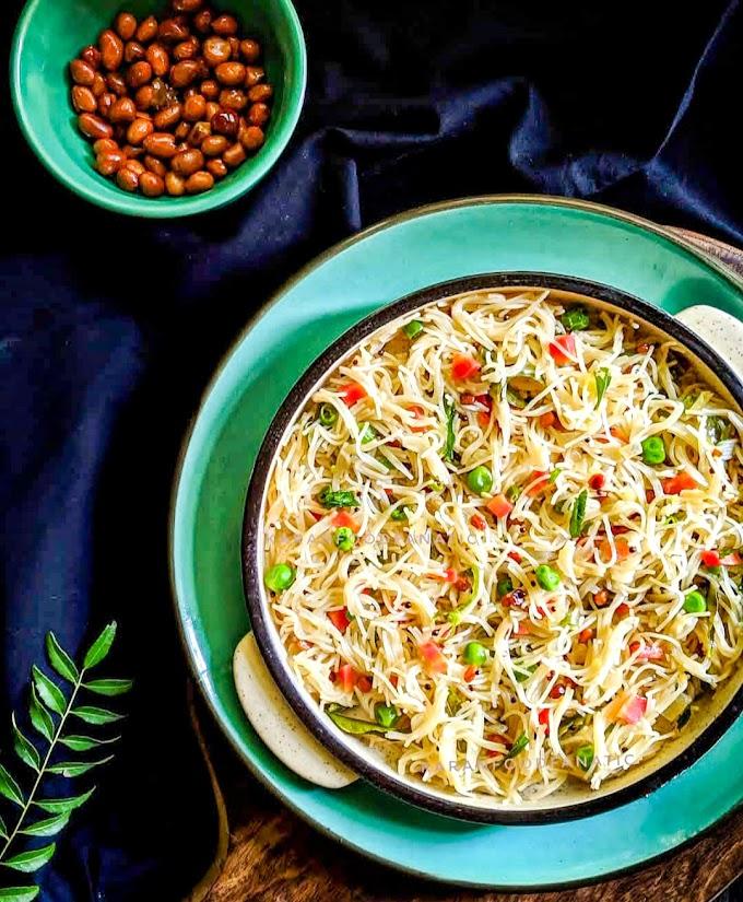 Vegetable Vermicelli Upma/ Semiya Upma Recipe | Breakfast Care