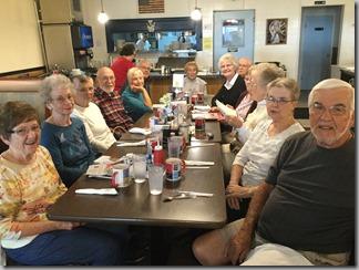 2018 Sept 22 class breakfast