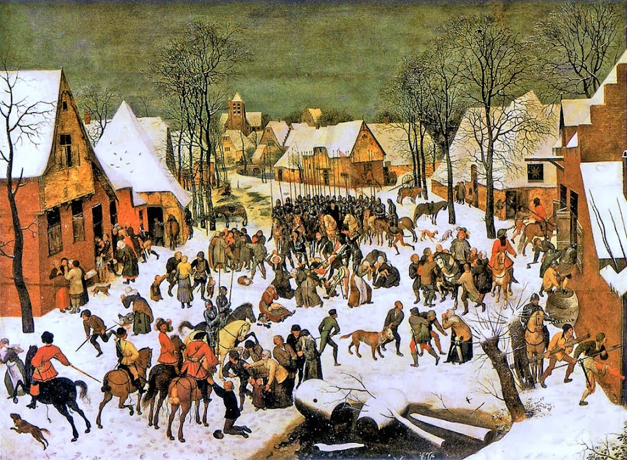 Pieter Brueghel the Younger - Massacre of the Innocents