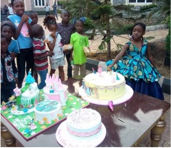 Lovely photos from Mercy Johnson's daughter's 5th birthday