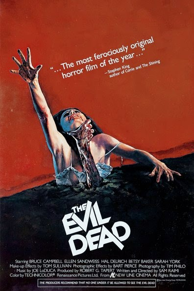 Poster Of The Evil Dead (1981) Full Movie Hindi Dubbed Free Download Watch Online At alldownloads4u.com