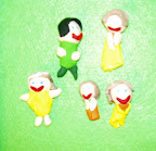 My Family in Clay by Zoe