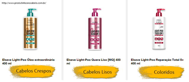 Elseve Light Poo L'Oréal