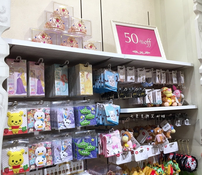 24 日本東京購物原宿白色迪士尼Disney Store