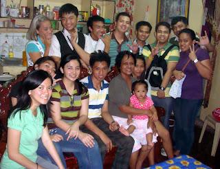 February 13: Jerone Hualda's Residence (Quezon City)