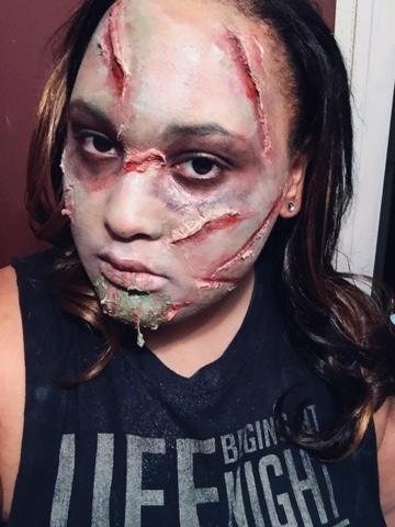 Exorcist makeup tutorial: linda blair regan special effects make.