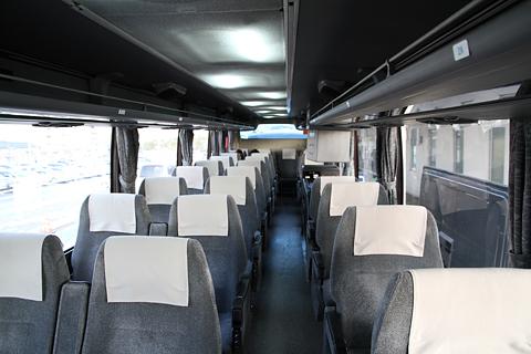 いわさきバスネットワーク「桜島号」 ・120 車内