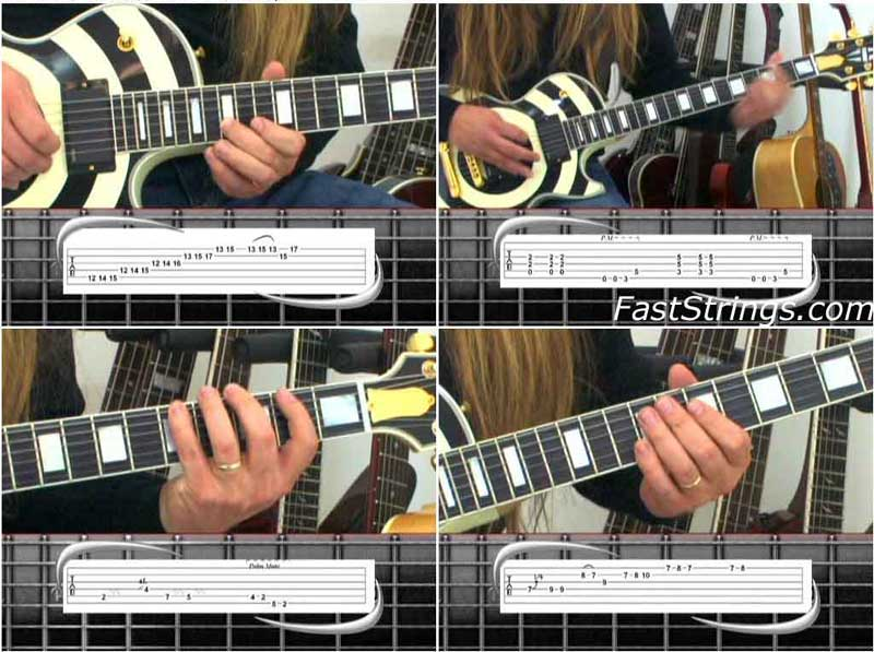 Mark John Sternal - Phrase By Phrase Guitar Method: Classic Metallica