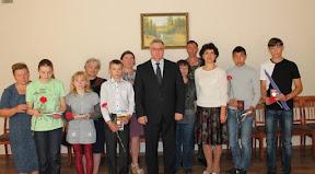Торжественное вручение паспорта гражданина России