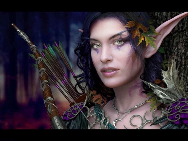 Green Elven Archer, Warriors