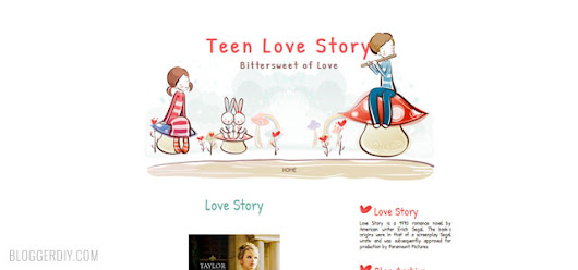 Blogger DIY - Google+ - free cute blogger templates