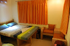Our room in Varanasi was one of our best in India.