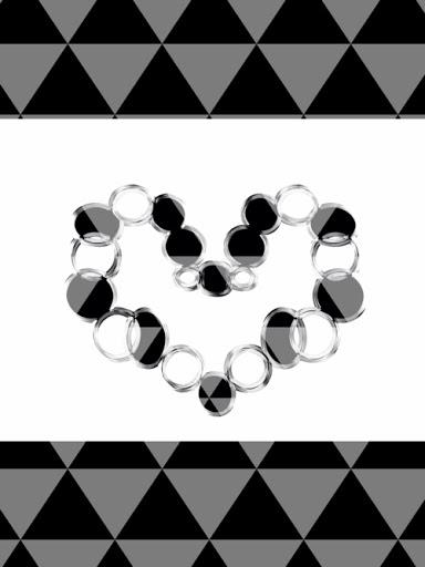 Blacky heart