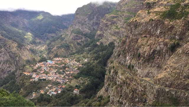 Top 10 things to do in Madeira - Walk down from Viewpoint at Pira do Serrado to Nuns Valley / Curral das Freiras