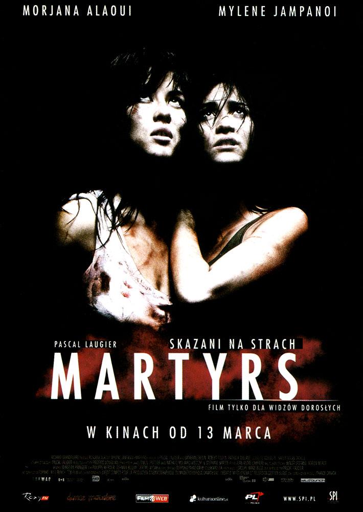 Ulotka filmu 'Martyrs. Skazani Na Strach (przód)'