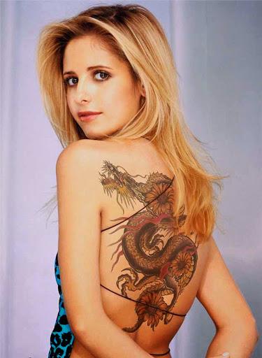 dragon tattoo for girls