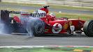 Rubens Barrichello burnout, Ferrari F2004