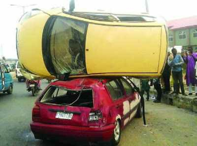 3 Escaped Death Near Fatal Car Accident In Osogbo Osun State