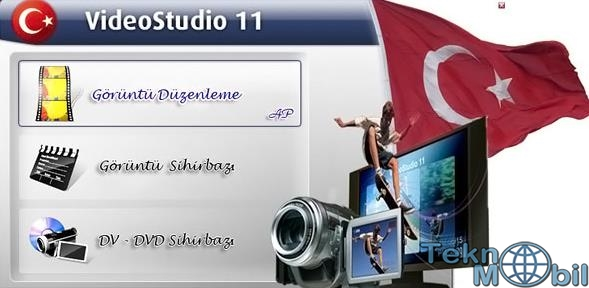 Ulead Video Studio Pro v11 Türkçe Full