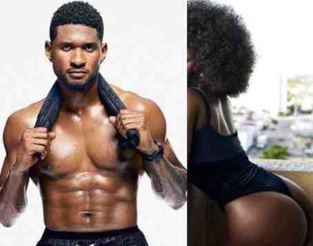 Last Month Usher Was Spotted Driving Out From A Club With Amara La Negra And Another Blonde Lady In His White Porsche
