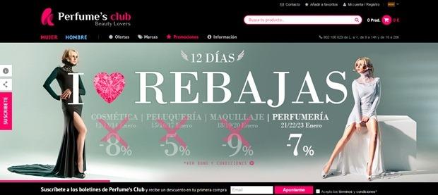 Abrir mi cuenta Perfumes Club España