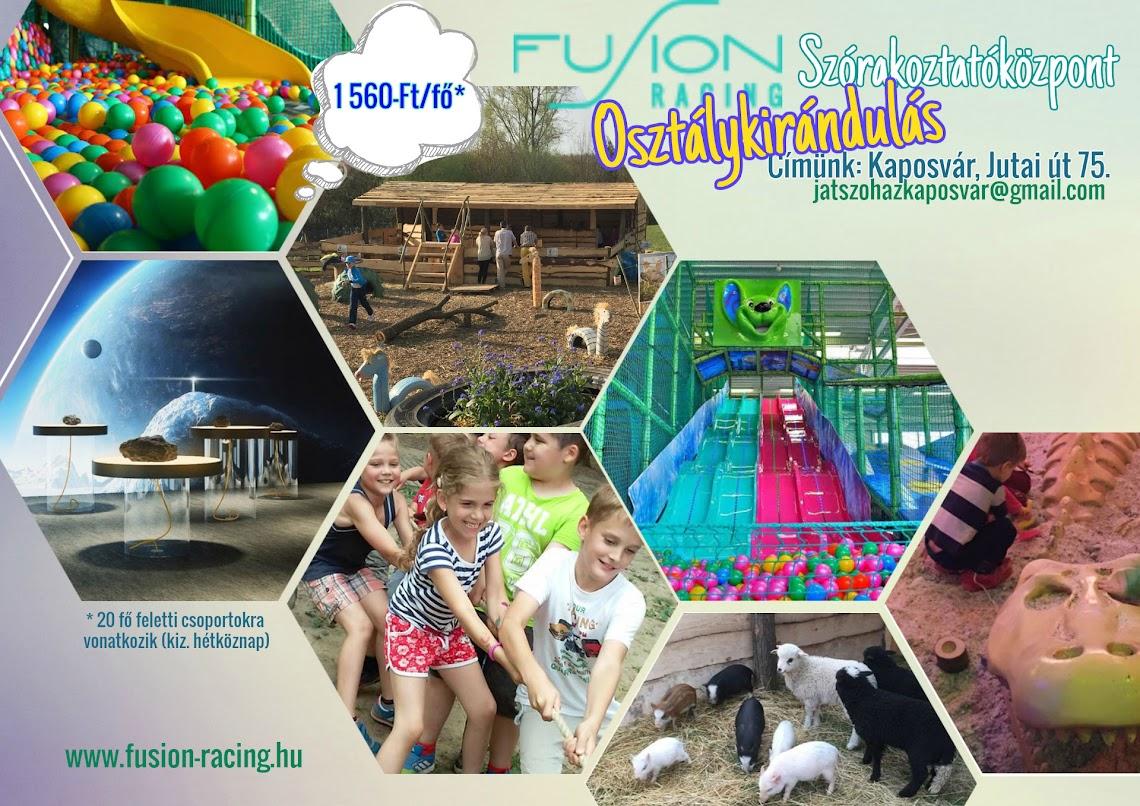 Tavaszi kirándulás Fusion Szórakoztató-központ 2016