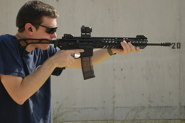 Gun owner shows how to conceal an AR-15