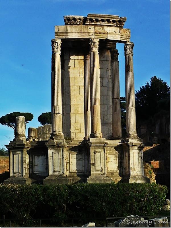 Temple of Vesta, Roman Forum, Rome