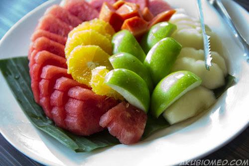 buah pencuci mulut
