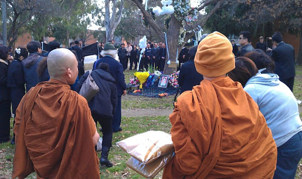 funeral on Northbourne