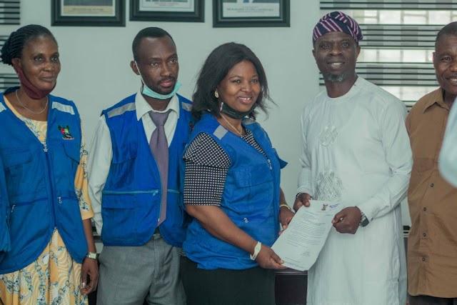 Ojodu LCDA Chair, Odunmbaku Hosts LSCPWB ~Omonaijablog