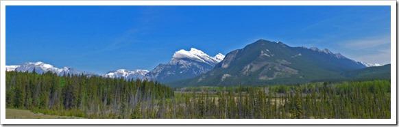 Mountains near Banff, AB