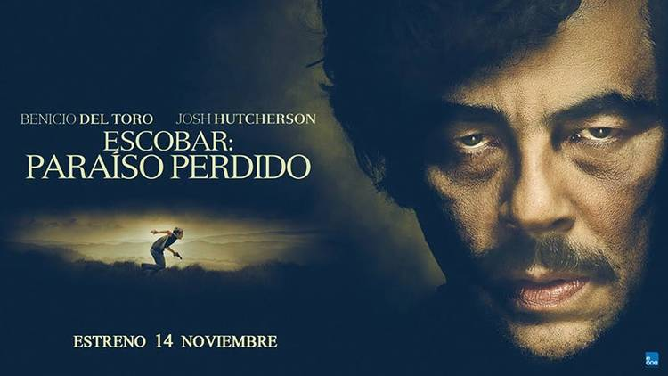 "Cartel promocional de ""Escobar: paraíso perdido"""