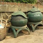 Luang Prabang - Mülltonnen
