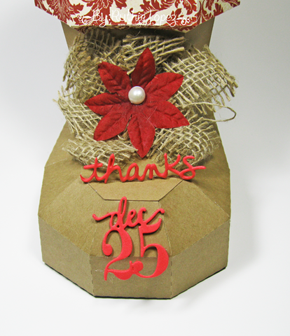 SnapDragon Snippets - Santas's Boot - Blog Hop - Ruthie Lopez - My Hobby My Art 3