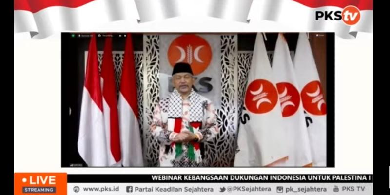Presiden PKS: Saatnya Indonesia Rapatkan Barisan Tentang Kejahatan Zionis Israel Terhadap Palestina