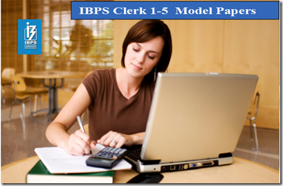IBPS Clerk Preliminary Question paper PDF Set1- 5  download