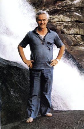 L'ultima foto di p. Sergio Sorgon (primo gennaio 1985)