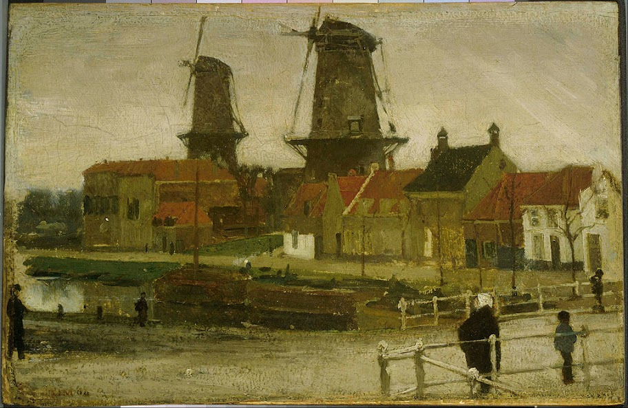 Matthijs Maris - A Corner of the Hague - Google Art Project