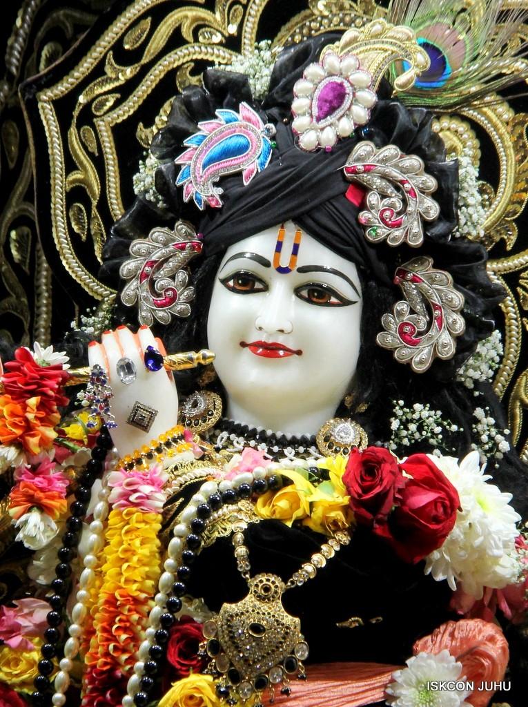 ISKCON Juhu Sringar Deity Darshan 7 Jan 2017  (19)