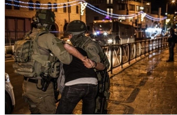 इजरायल के यरुशलम में फिलिस्तीनियों और इजरायली सुरक्षा बलों के बीच भारी संघर्ष