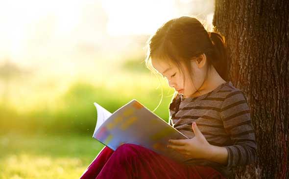 O CHILD READING