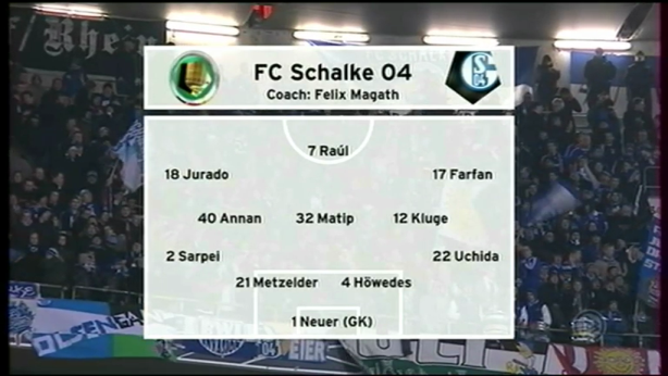 Copa de Alemania, Semifinal, Bayern Munich 0-1 Schalke 04, partido completo Germ.Cp.2010.2011.Bay.Shlk.9